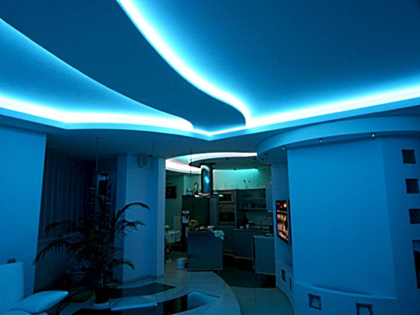 диодная подсветка в квартире фото реле предназначены